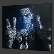 EMINEM TIPOGRAFIA ART MODERNO IMMAGINE FOTO TELA STAMPA 30.5cmx30.5cm