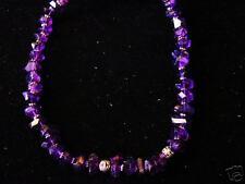 Amethyst Bali Silver Bead Jewelry Necklace
