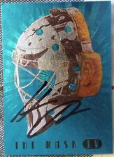 Boston Bruins Hannu Toivonen Signed The Mask IV Card