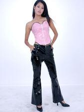 Lackina--schwarze oder weiße Lack Hose im Jeans Style Gr S-4 XL