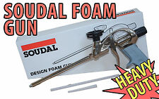 SOUDAL Design Heavy Duty PU ESPANSO FOAM GUN PISTOLA l'applicatore del livello