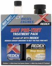 Redex Diesel Treatment Pack 250ml + Redex Stop Smoke for MOT Pre Test