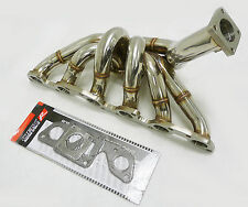 OBX T4 Divided Turbo Manifold Fits 89 90 91 92 93 94 01 SKYLINE R34 RB26DETT