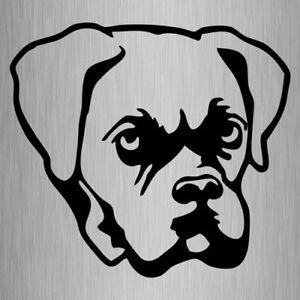 BOXER sticker, Vinyl Dog Decal 110mm x 100mm