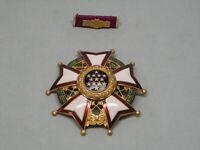 Legion of Merit Commander Medal (3 inches) includes lapel pin