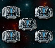 Star Wars: X-Wing Miniature Games Metal Rebel Stress Tokens -- Broken Egg Games