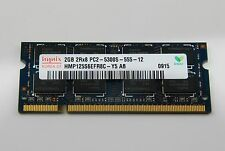 Memoria Ram HYNIX 2GB  NOTEBOOK PORTATILE  2GB 667MHZ PC2-5300S-555-12 SO-DIMM