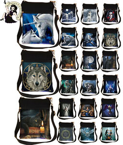 Nemesis Now Shoulder Bag Anne Stokes Fairy Wolf Unicorn Witching Cat Parker