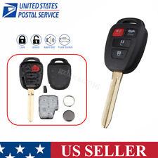 For 2012 2013 2014 Toyota Camry Keyless Entry Remote Key Fob HYQ12BDM G Chip