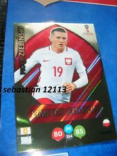 Panini Fifa World Cup Russia 2018 limited edition Piotr Zielinski Poland