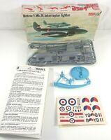 Frog Meteor F.Mk.IV. Interceptor Fighter Jet 1:72 F200 Model Kit - Sealed Bags
