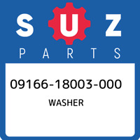 09166-18003-000 Suzuki Washer 0916618003000, New Genuine OEM Part
