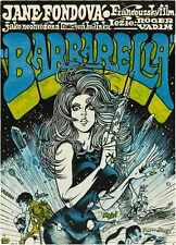 Barbarella Poster 08 A3 Box Canvas Print