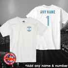 Argentina Kids Personalised Football T-shirt Copa America World Cup Boys Girls