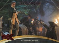 CZX OUTLANDER - RED DECO FOIL PARALLEL BASE CARD 30 A CALCULATED AMBUSH 17/50