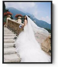 Photo on Canvas with Floater Framed, Personalized Photo Picture to Canvas Print