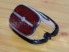 LED Brake Tail Light License Plate Lamp Bulb For Harley Softail FXST FXSTC FXSTI