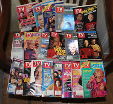 TV GUIDE LOT OF 21 STAR TREK RELATED TV GUIDES 90'S -2000 &