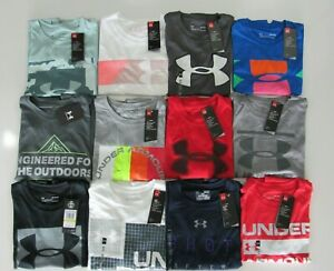 Under Armour Mens Loose Fit Heat Gear Medium Tshirts Nwt