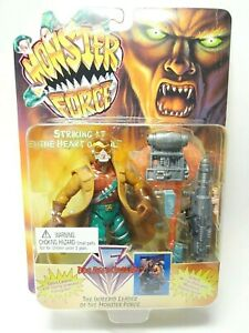"""Monster Force Doc Reed Crawley The Intrepid Leader 1994 Playmates 4-3/4"""" Tall"""