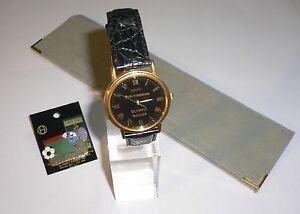 1996 Olympic Games ATLANTA Seiko Watch Birmingham Olympic Soccer Football & Pin