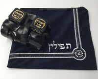 High Quality Tefillin Sephardic Jewish Kosher Sefaradi Tefilin Phylacteries +Bag