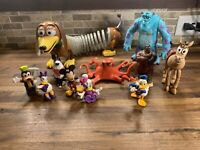Lot of 11 Misc Disney Characters Toy Figures Toy Story, Monsters Inc.