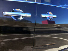 ABS Chrome Door Handle Bowl Cover Trim 4pcs For Nissan Serena MkIV C26 16-17