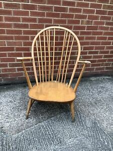 Ercol Windsor Low Wooden Mid Century Arm Chair Spares Repair