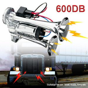 DE 600DB Fanfare Hupe Drucklufthorn Nebelhorn Lufthorn 12V Auto PKW Zug Boot RV