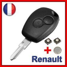 Guscio Chiave Sistema Keyless 2 Pulsanti Renault Kangoo Clio Twingo Modus Vento