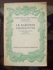 1954 TEATRO DI CARLO GOLDONI 'LE BARUFFE CHIOZOTTE' SUI PESCATORI DI CHIOGGIA