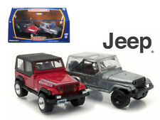 1987-95 Jeep Wrangler YJ Hobby Only Exclusive 2 Cars Set 1/64 Diecast Model Cars