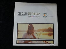 "7"" 45 RPM - Dee C Lee - 1985 - See the Day/The Paris March"