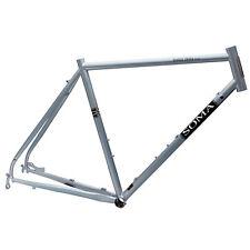 Soma Double Cross Disc Bike Frame, 52cm - Sky Silver, Cross, Gravel, Touring