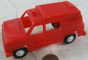 Vintage 1960's Plastic Strombecker Kool Kats Emergency Vehicle