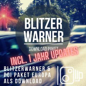 Blitzerwarner Download Paket passend für Mercedes Comand / MBUX incl. 1J Updates