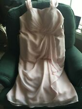 JJ's House Mother Of The Bride Sample Dress Size 16. Blushing Pink
