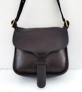 Vintage Coach Courier Bag 1970's Pre Creed Shoulder Bag Bonnie Cashin Brown