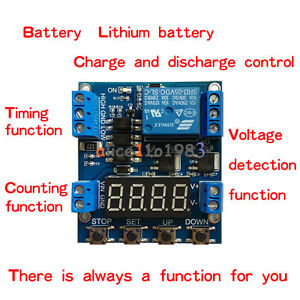 1-Channel Relay Module Trigger Delay Cycle Timer Circuit Switch Adjustable 6-30V