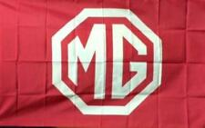 MG MGB MGA MIDGET FLAG HUGE Red.Classic car show, Man Cave, Garage, Shed