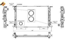 NRF Radiador, refrigeración del motor AUDI A4 A6 A7 A5 Q5 53719