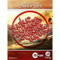 Guild Ball: Butcher's Guild - Token Set