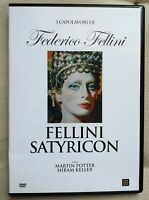 FELLINI Satyricon DVD Edit. Federico Fellini
