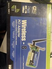 LINKSYS WMP11 WIRELESS PCI CARD NEW 802.11b 2.4GHz
