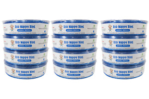 12x Eco Angel Refills for ANGELCARE Nappy Bins - 100% Compatible
