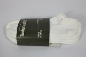 Timberland Men's Sagamore Beach White Trainer Socks J0271 100