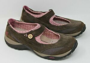 Timberland Size 8.5 Mary Jane Shoes Vibram Agile IQ Comfy Brown & Pink 56693