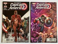 Captain America Sam Wilson 21 Variant Lot Marvel Comics 2016