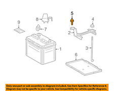 TOYOTA OEM Battery-Hold Down Mount Bolt 90119A0133